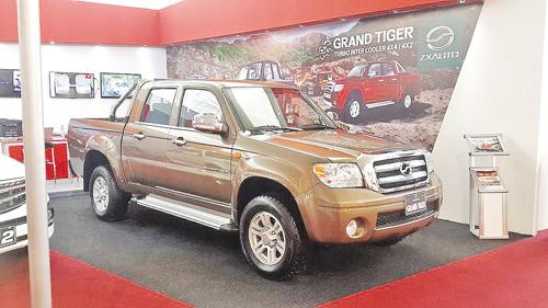 近年来中国汽车整体出口形势低迷,而中兴汽车实现营销转型,重点打造