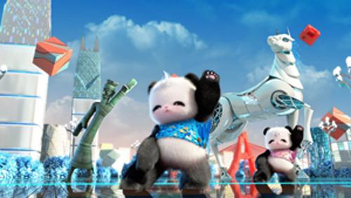 """""""在谈到和《功夫熊猫》,《疯狂动物城》等全球热映动漫作品的差距时"""