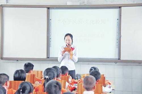 去年清明节,邓小平故里管理局与广安职业技术学院,广安希贤学校等学校